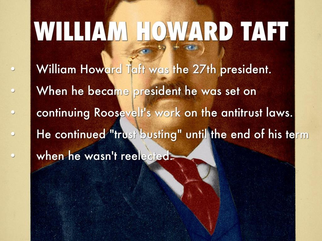 william howard taft the reluctant president essay