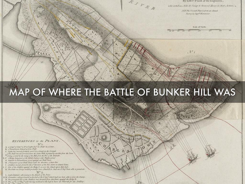 the battle of bunker hill by mrs mckinnon