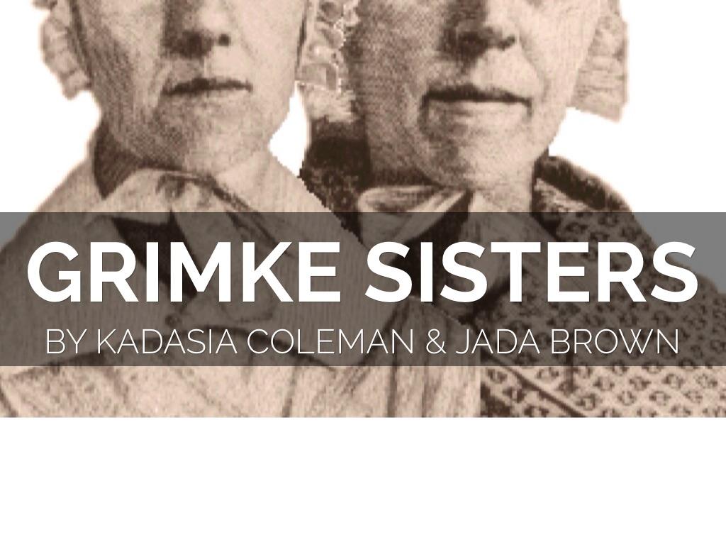 Grimke Sisters by Kadasia Coleman