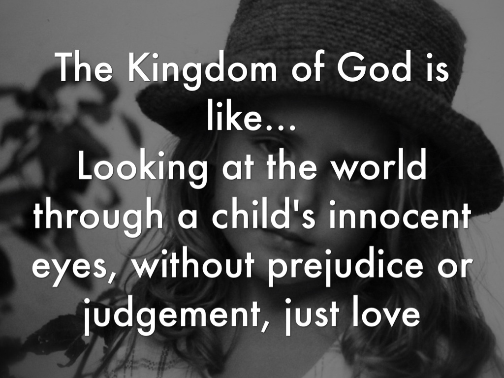 """the kingdom of god is like I'd like to do all i can to plant it in  anyone having a problem with the concept that """"the kingdom of god is a party"""" needs to know his argument is not."""