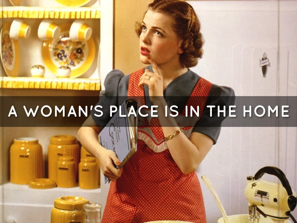 a woman s place is in Women today inhabit and excel in every profession, yet many christian women  wonder whether their work really matters for the kingdom in a woman's place,.