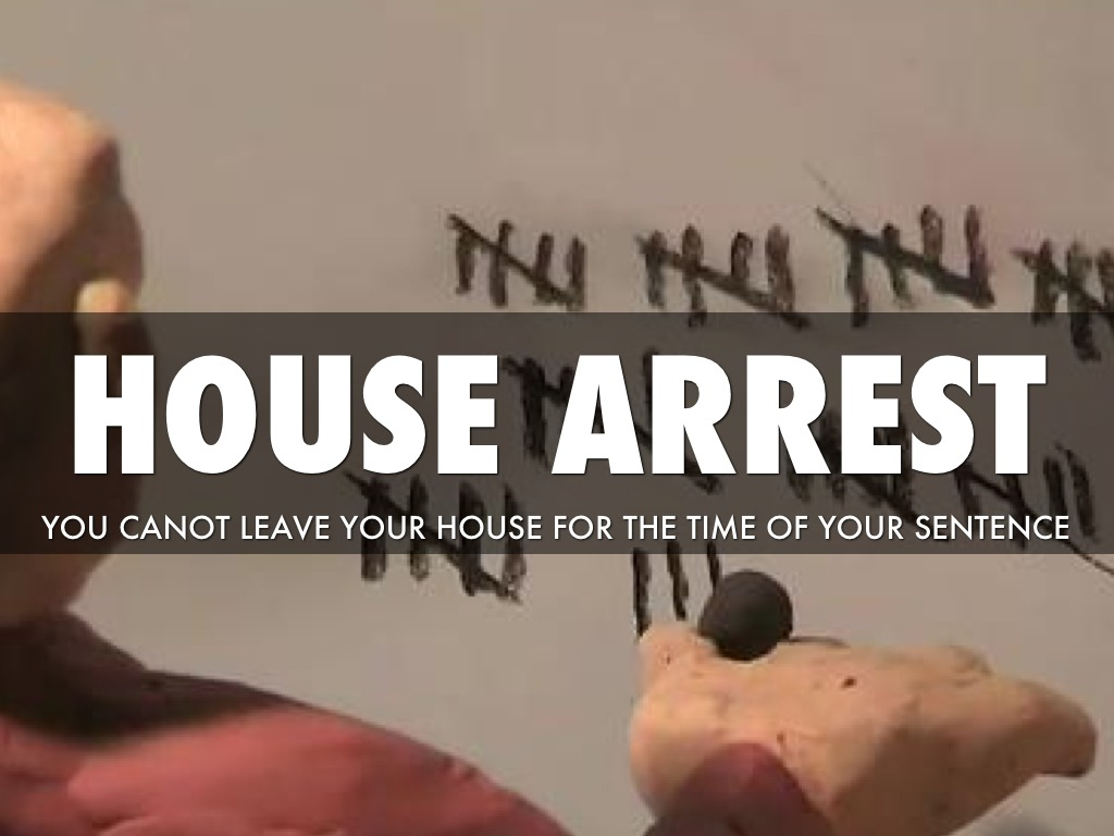 house arrest essay A house arrest a judge may order 4 write an essay on the effects of shoplifting on the store owner and the public in creative sentencing manual.