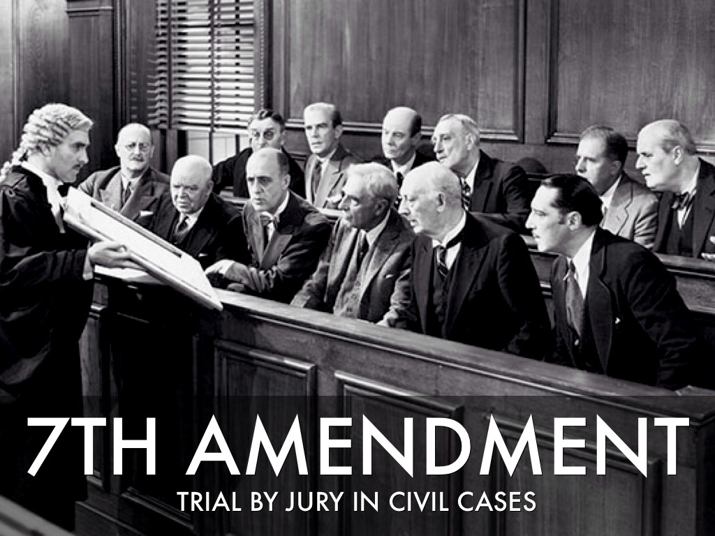 Bill Of Rights by Russ Stimmel Jury Trials In Civil Cases