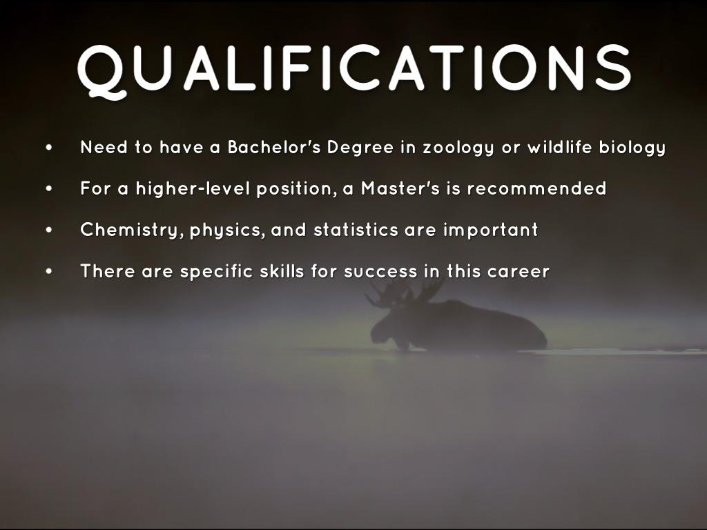 5 - Wildlife Biologist Job Description
