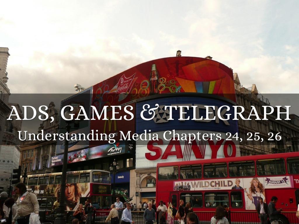 Ads, Games & Telegraph