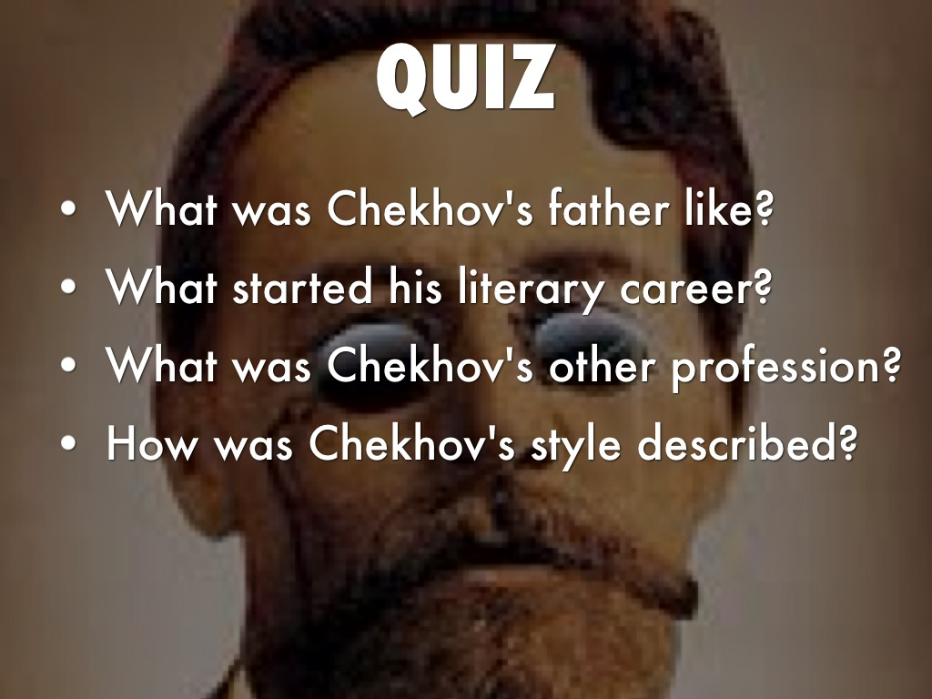"the conflicts faced by the characters in the cherry orchard a play by anton chekhov A look at ""a nincompoop"" by anton chekhov in  introduction anton chekhov's the cherry orchard about the  a version of the play by anton chekhov."
