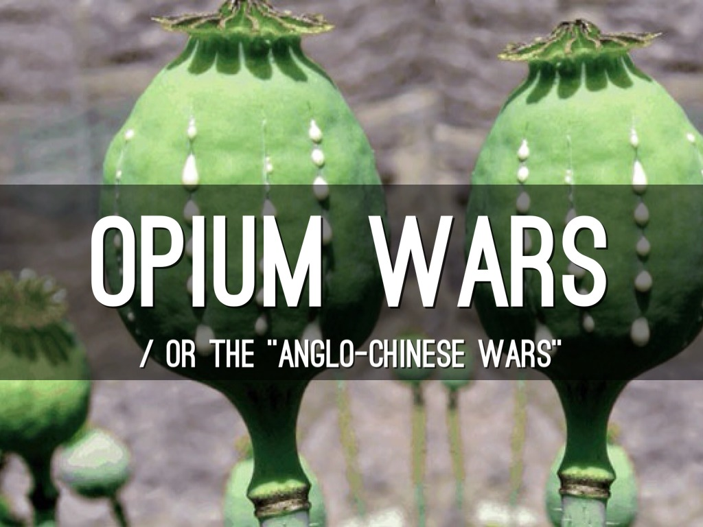 a review of the opium wars or anglo chinese wars