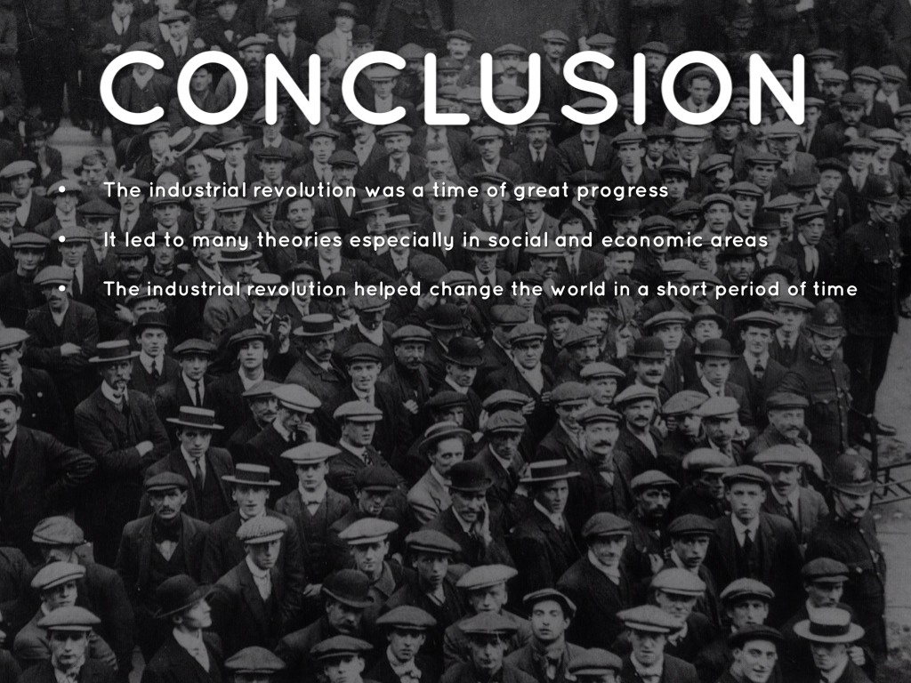 conclusion on industrial revolution