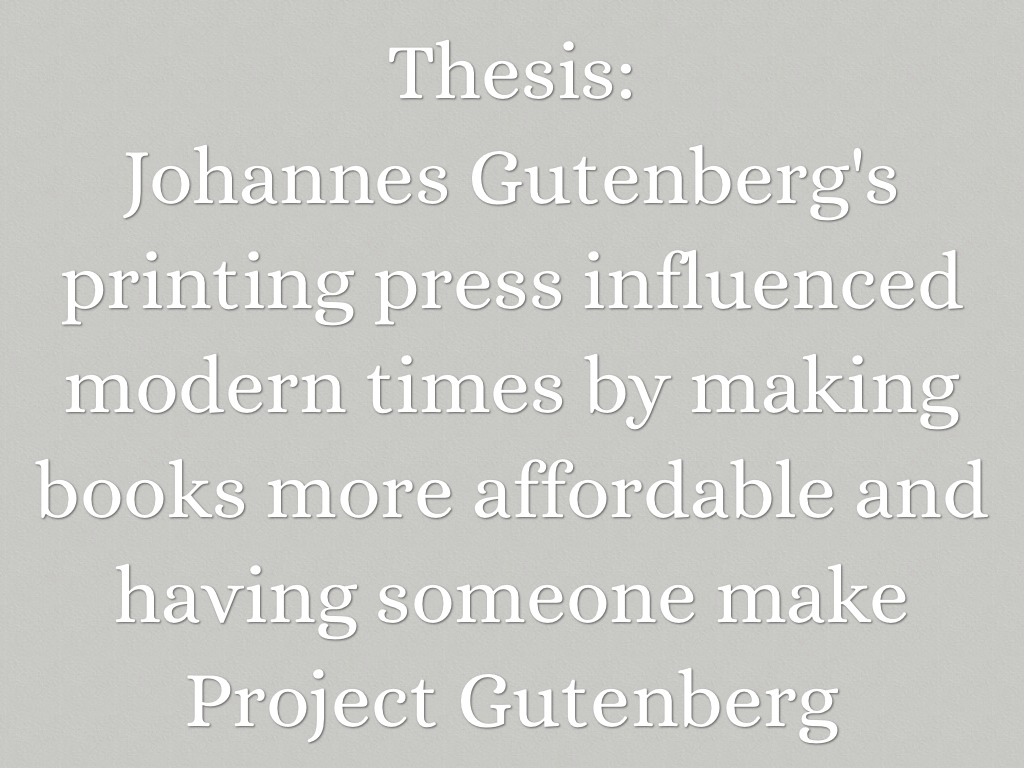 Johannes Gutenberg Was The First Person To Make The First Moveable Type  Printer