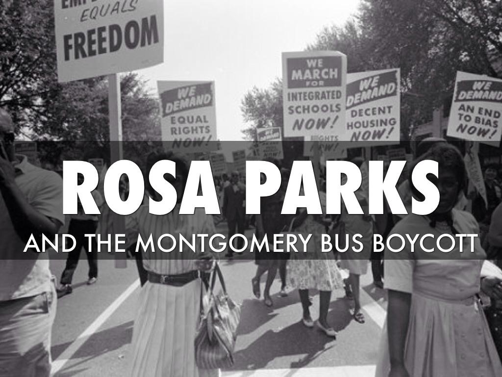 montgomery bus boycott thesis
