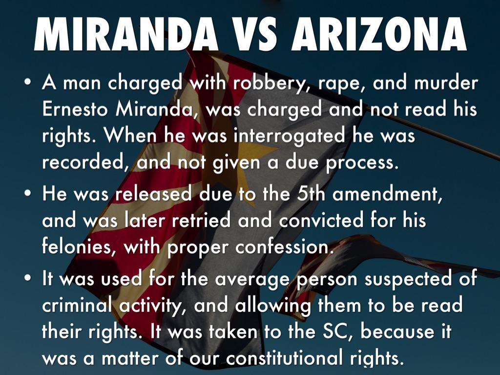 miranda vs arizona