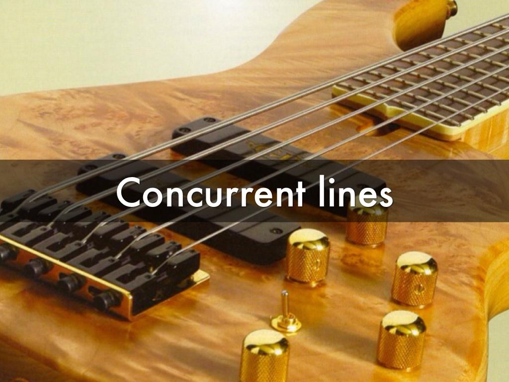 Concurrent Lines In Nature