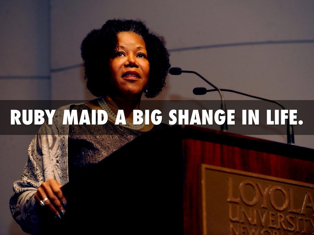 Ruby Bridges By Katelyn By Mrs Rumberger