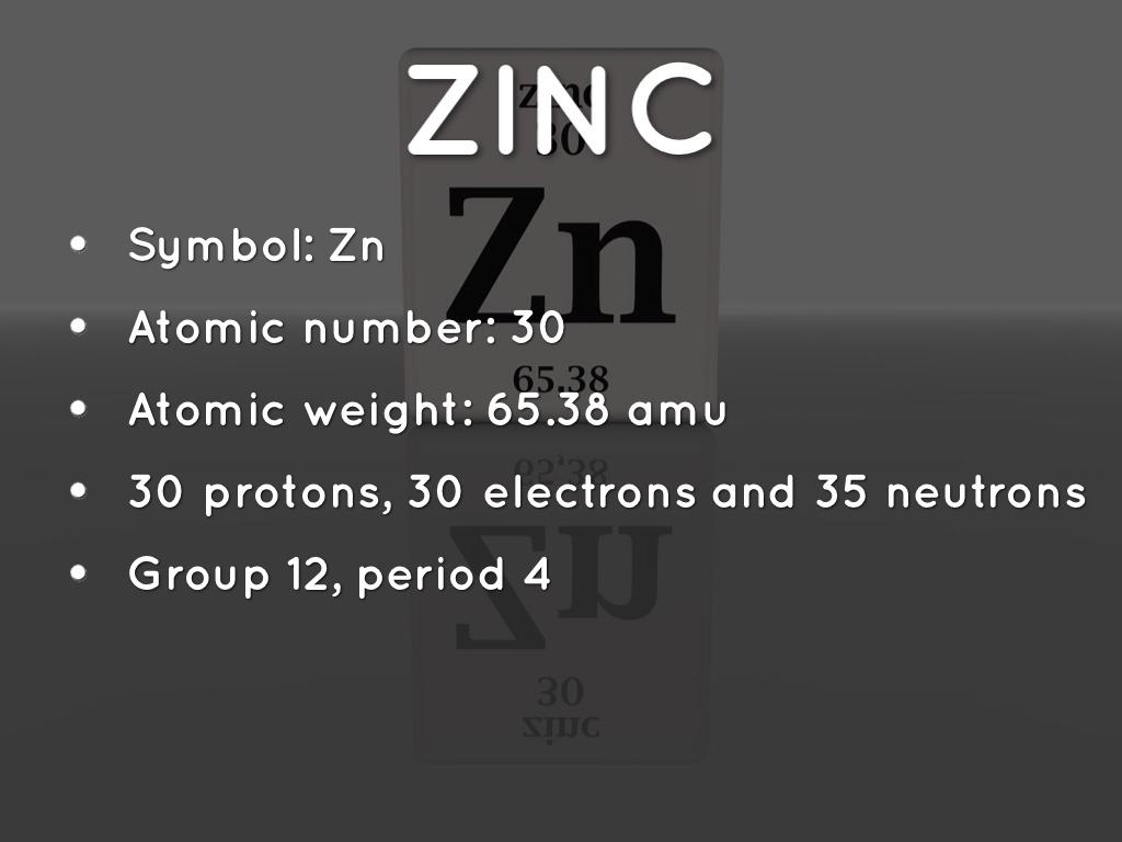 Zinc By Fjh