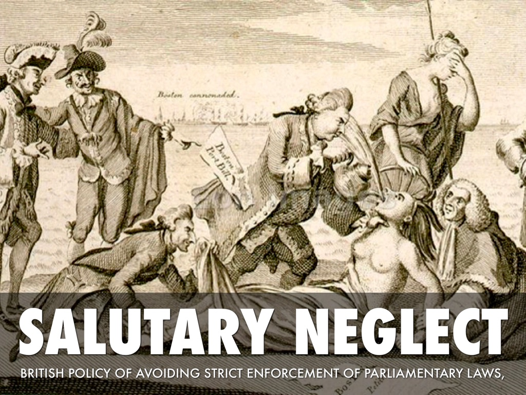 britains policy of salutary neglect