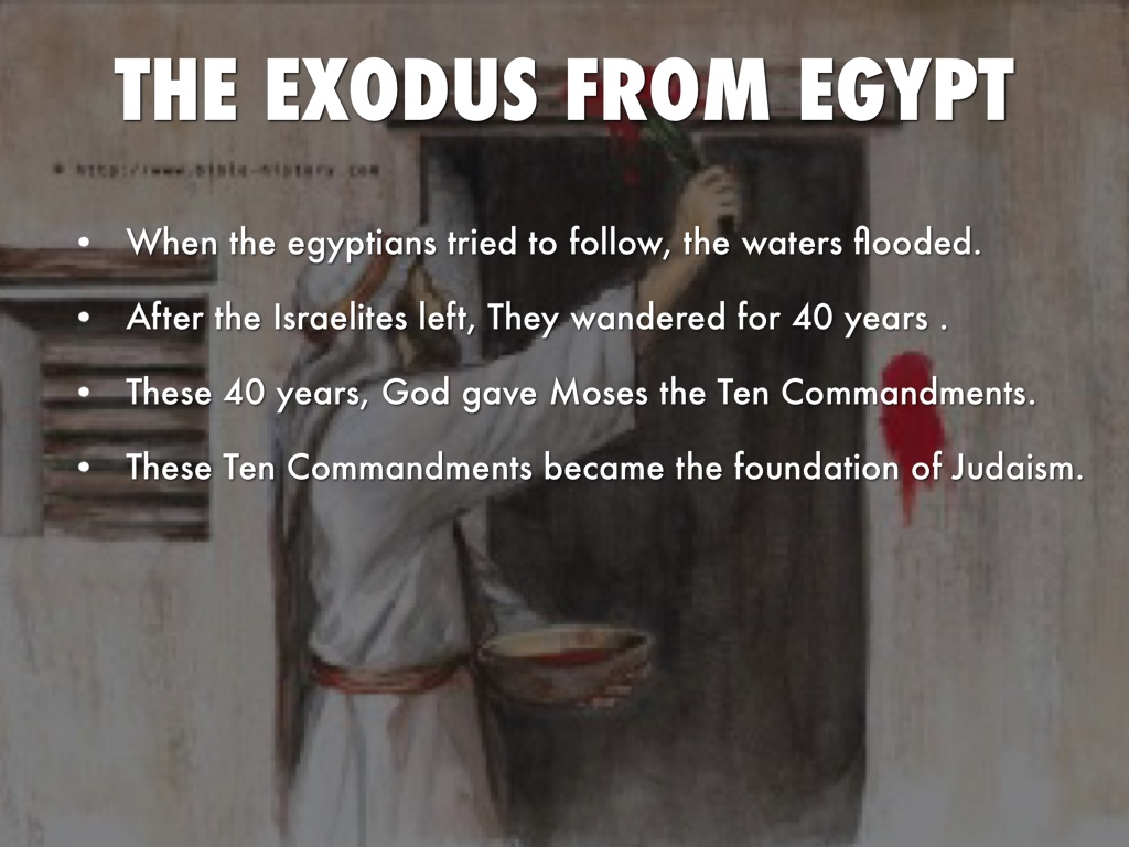 a description of the leader moses in rallying the israelites people and led them out of egypt During those many days the king of egypt died, and the people of israel groaned of egypt, the israelites still of israel moses looked upon them.