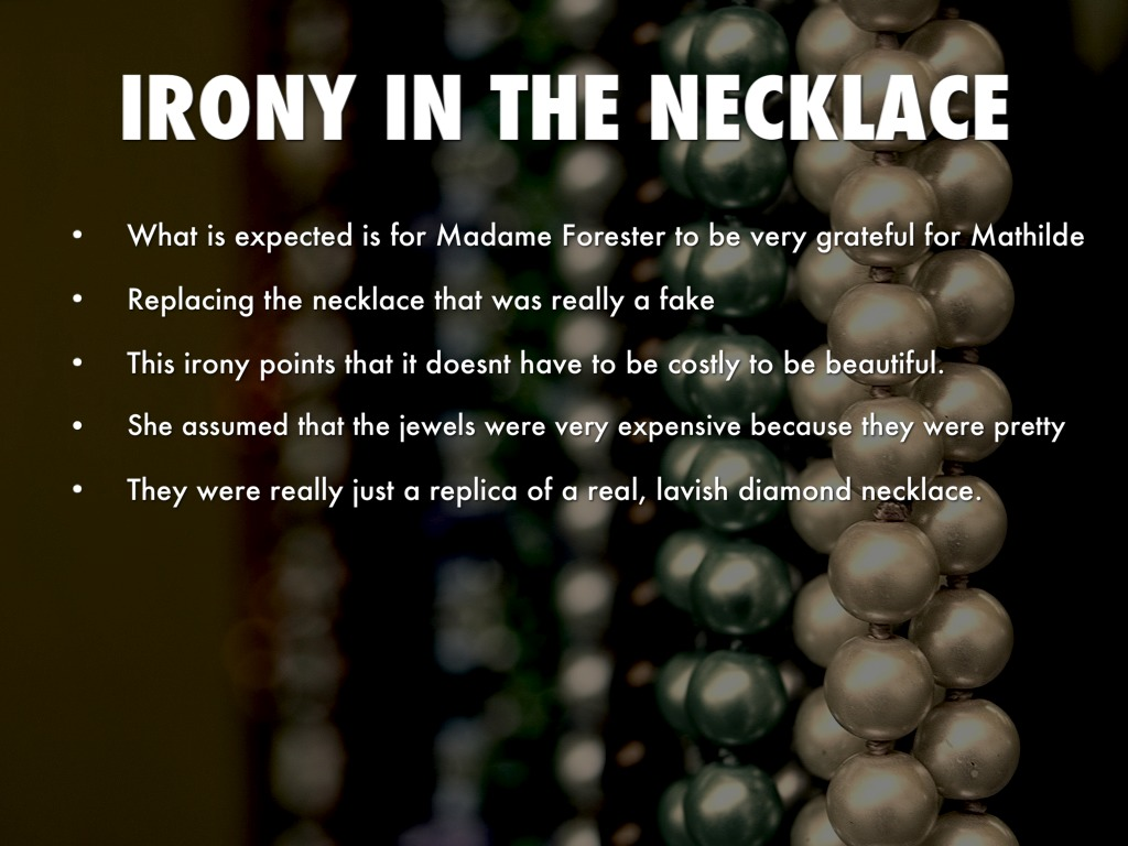 situational irony the necklace by sonja feaster 4