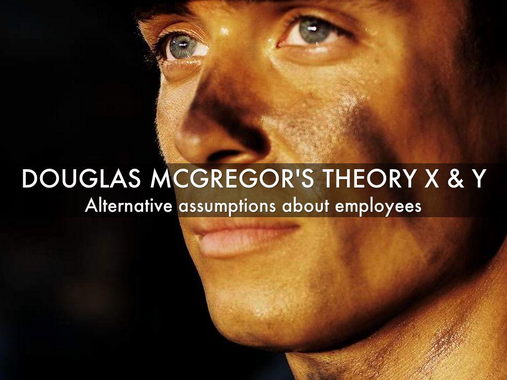 douglas and mcgregors theories