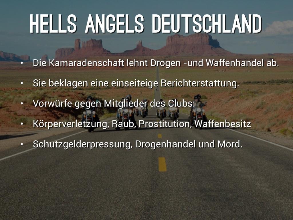 Hells Angels Aufnahme