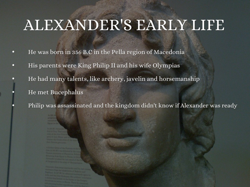 life and conquests of alexander the great Also explains the historical and literary context that influenced alexander the great the roots of the conquest the construction of alexander's life is.