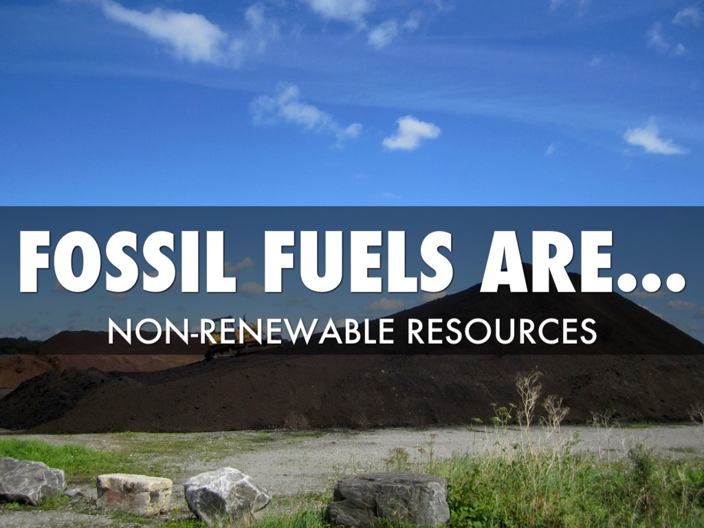fossil fuels and alternative energy resource Why is it important to use renewable energy fossil-based fuels the list of renewable resources renewable energy is derived from various natural processes.