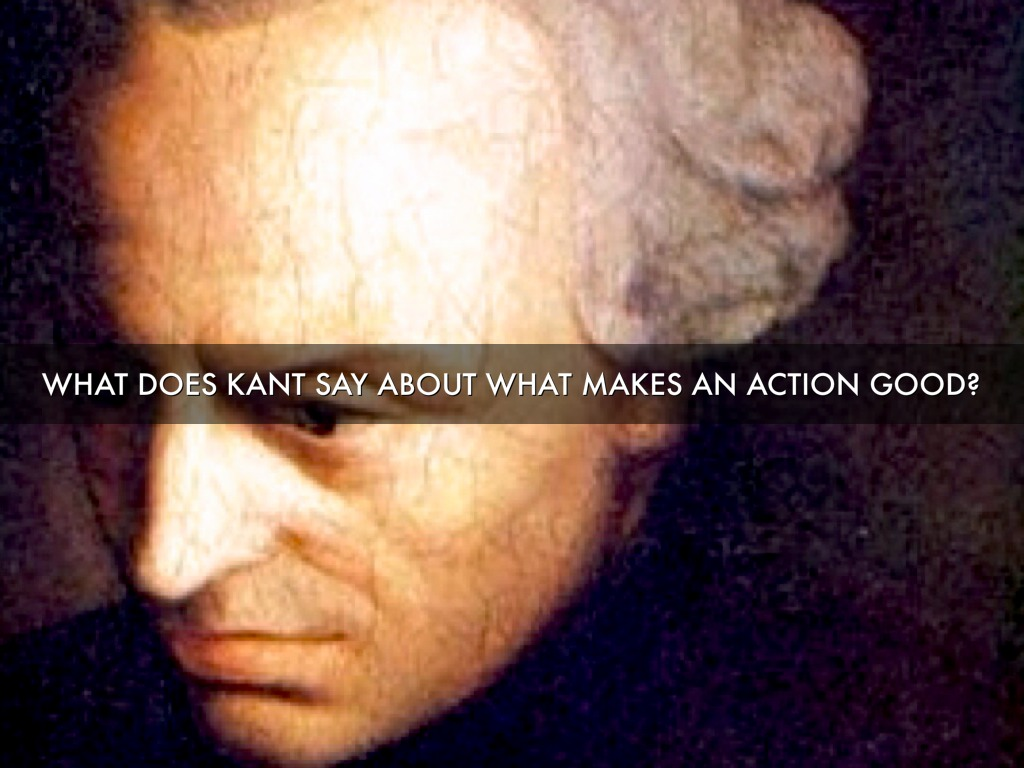 kant's deontology Kantian ethics german philosopher kant's theory is an example of a deontological moral theory–according to these theories.