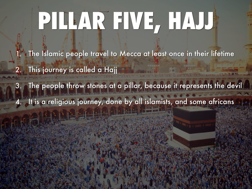 Five Pillars Of Islam ...