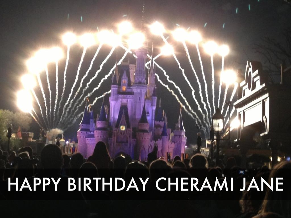 Happy 40th Birthday Cherami Jane By Darryldean8