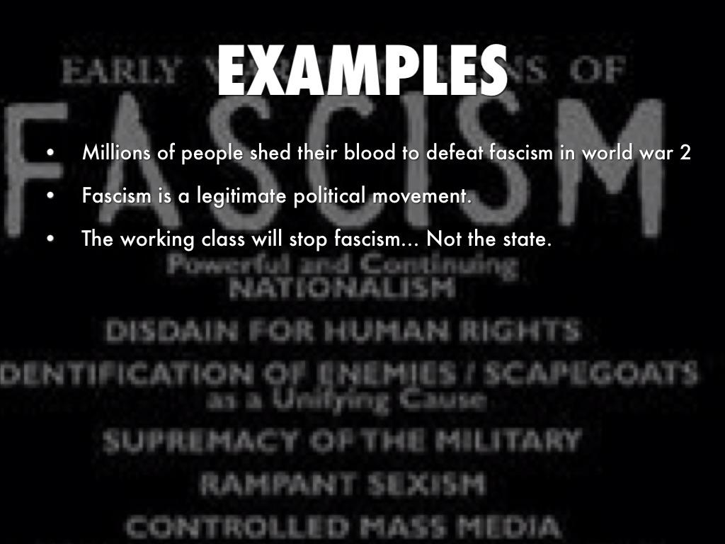 Fascism By Lexi Vazquez