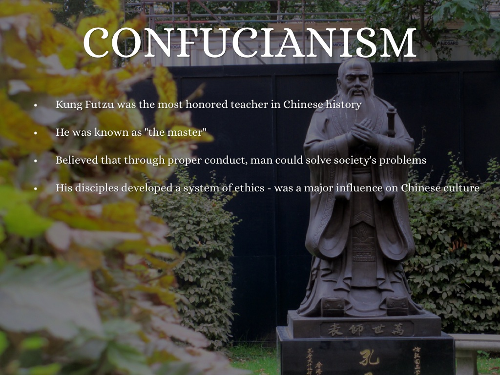 a history of confucianism in chinese culture