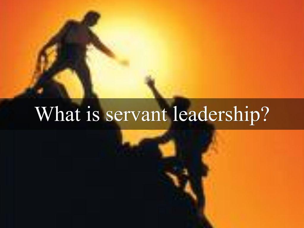 servant leadership by danielle von schriltz