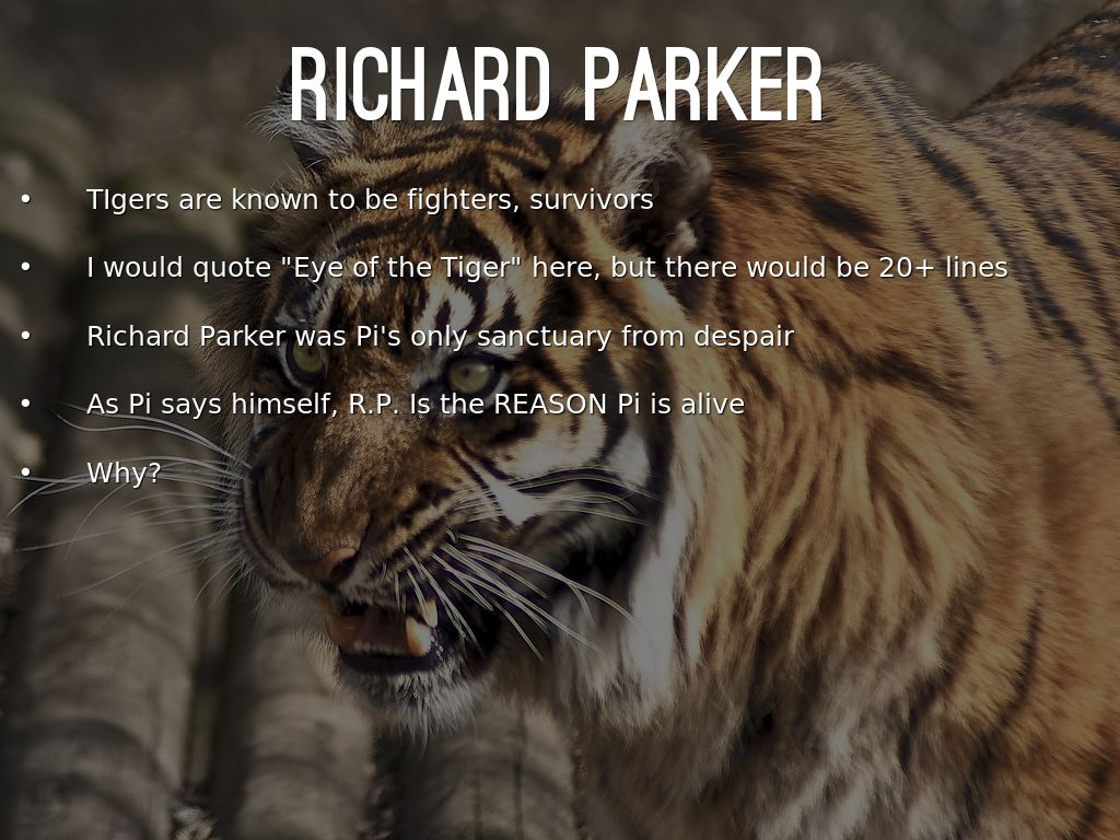 life of pi essays richard parker Richard essay of parker life pi december 14, 2017 @ 10:48 pm environment body essay graffiti introduction essay about myself beispieltexte essay about myself the.