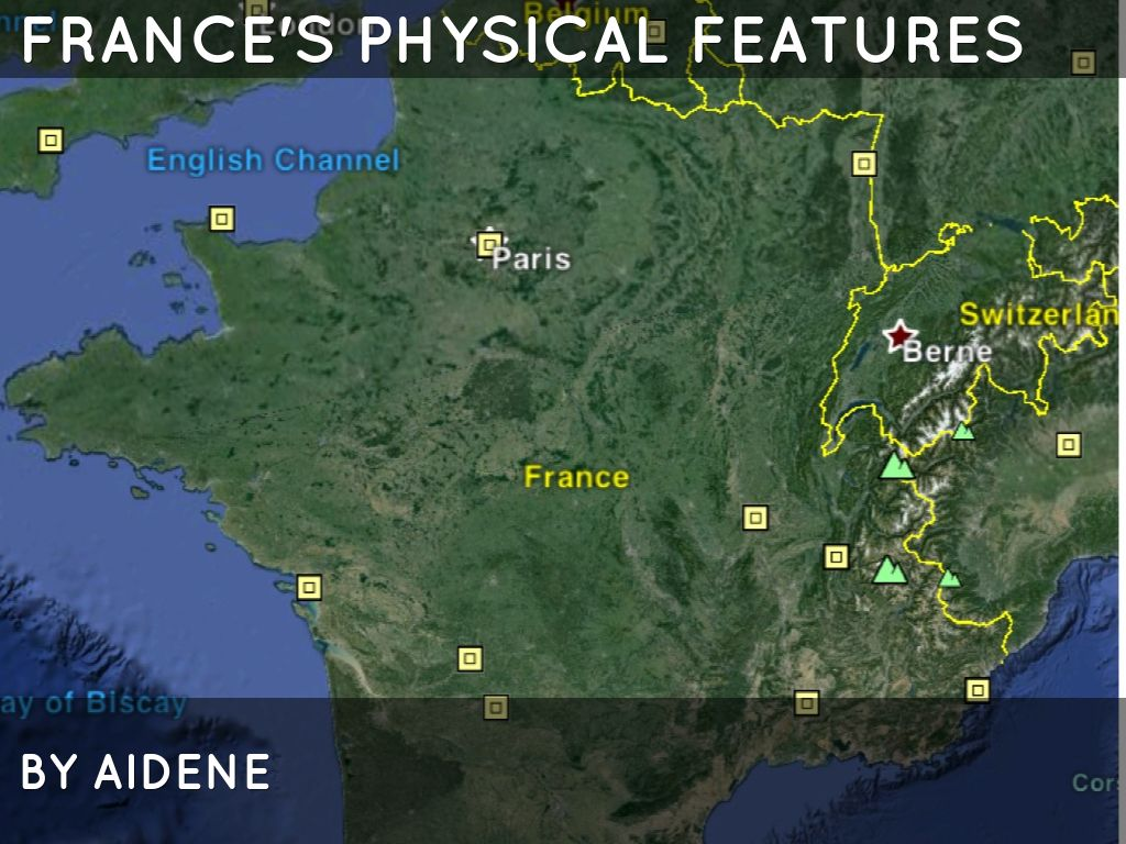 France\'s Physical Features by Denyaz Farhat