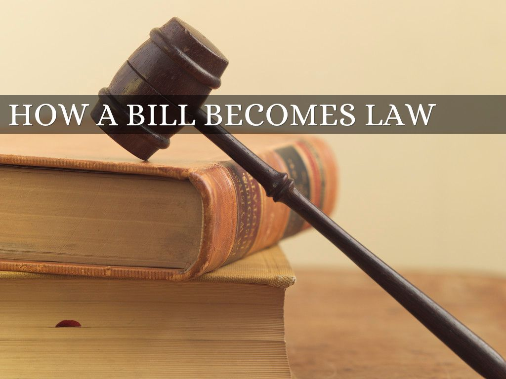 how bill becomes law The bill is then assigned to a committee for study if released by the committee, the bill is put on a calendar to be voted on, debated or amended if the bill passes by simple majority (218 of 435), the bill moves to the senate.