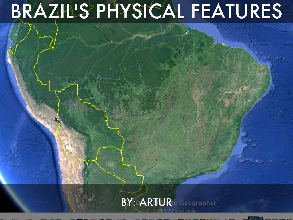 Brazils Physical Features by Denyaz Farhat
