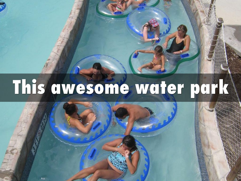 This awesome water park