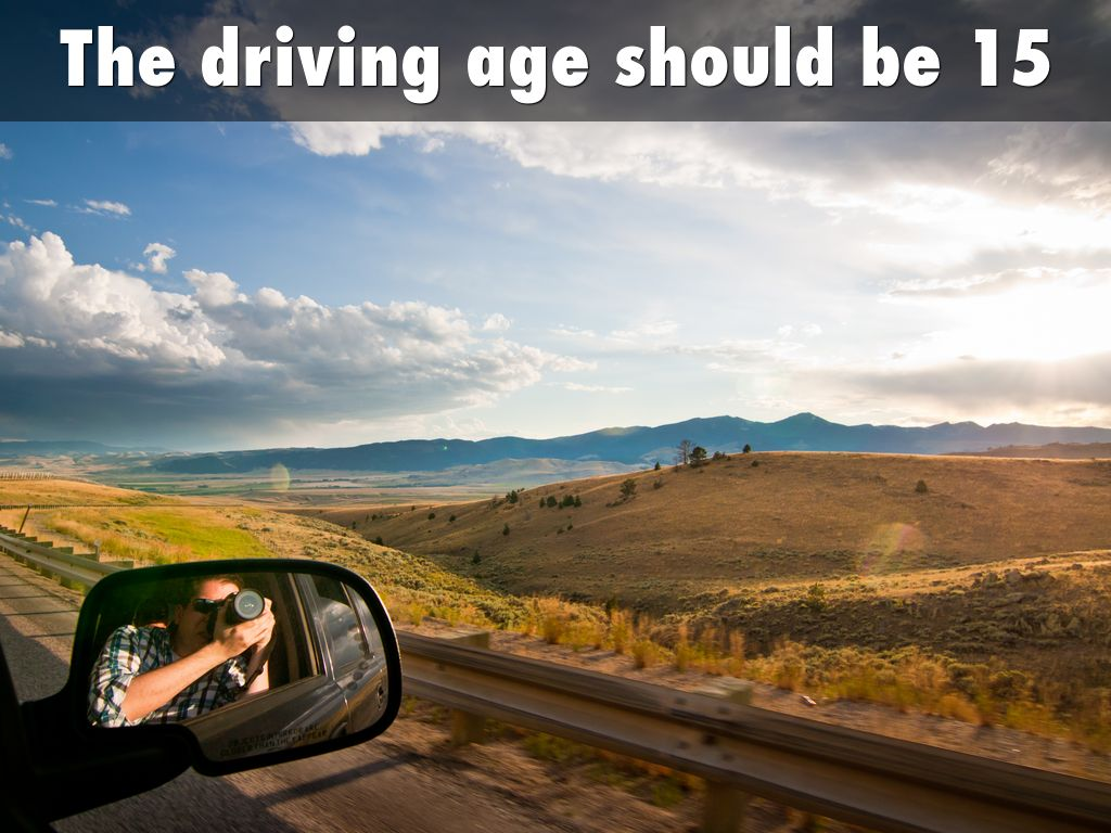 the driving age should be rasied