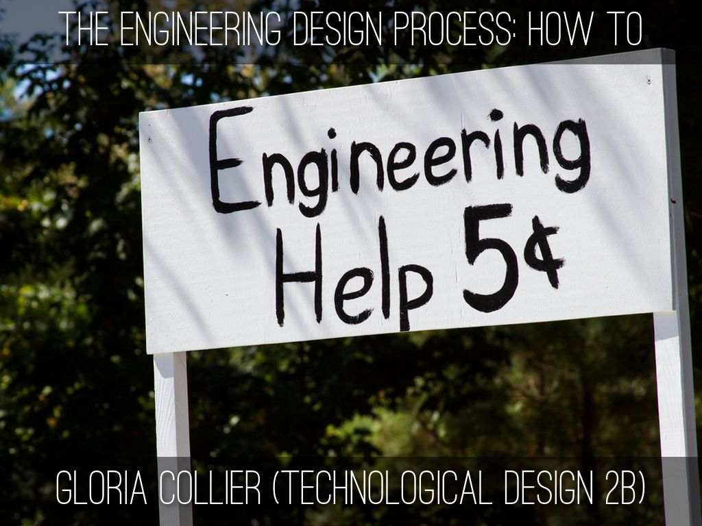 The Engineering Design Process: How To