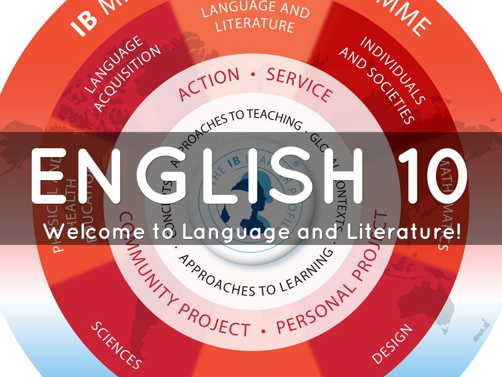 Intro to English 10