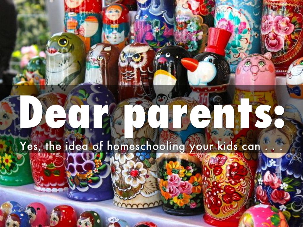 Dear Prospective Homeschool Parent