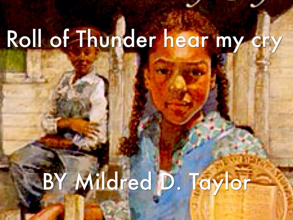 Roll Of Thunder Hear My Cry by JaMilia Macon