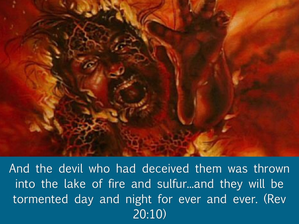 'Fallen, fallen is Babylon the great! It has become a dwelling place of  demons, a haunt of every foul spirit...' (Rev 18:2)