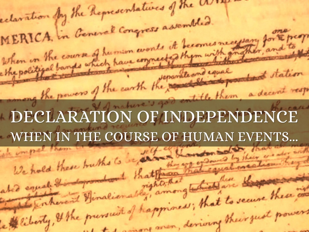 declaration independence 3