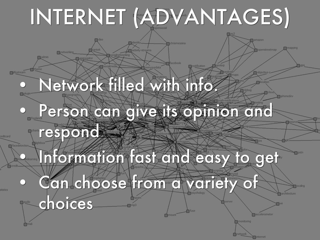 internet and its advantages Internet advertising has obvious advantages over traditional advertising, and also  unavoidably brings its disadvantages, mainly in the following aspects.