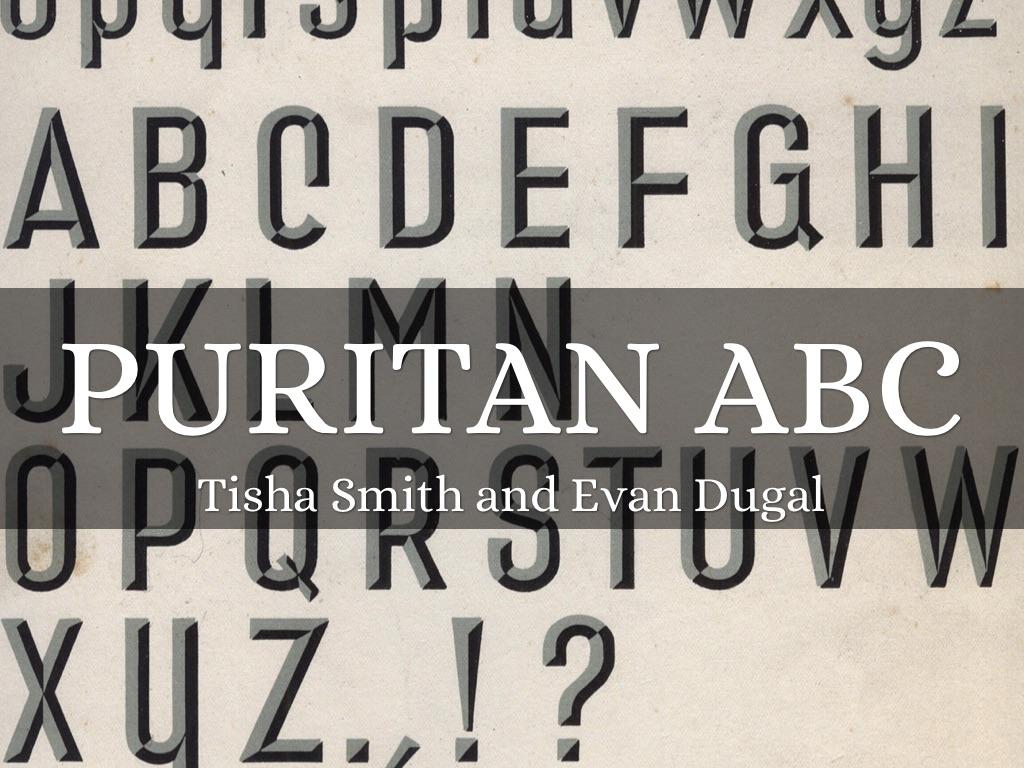 puritan typology