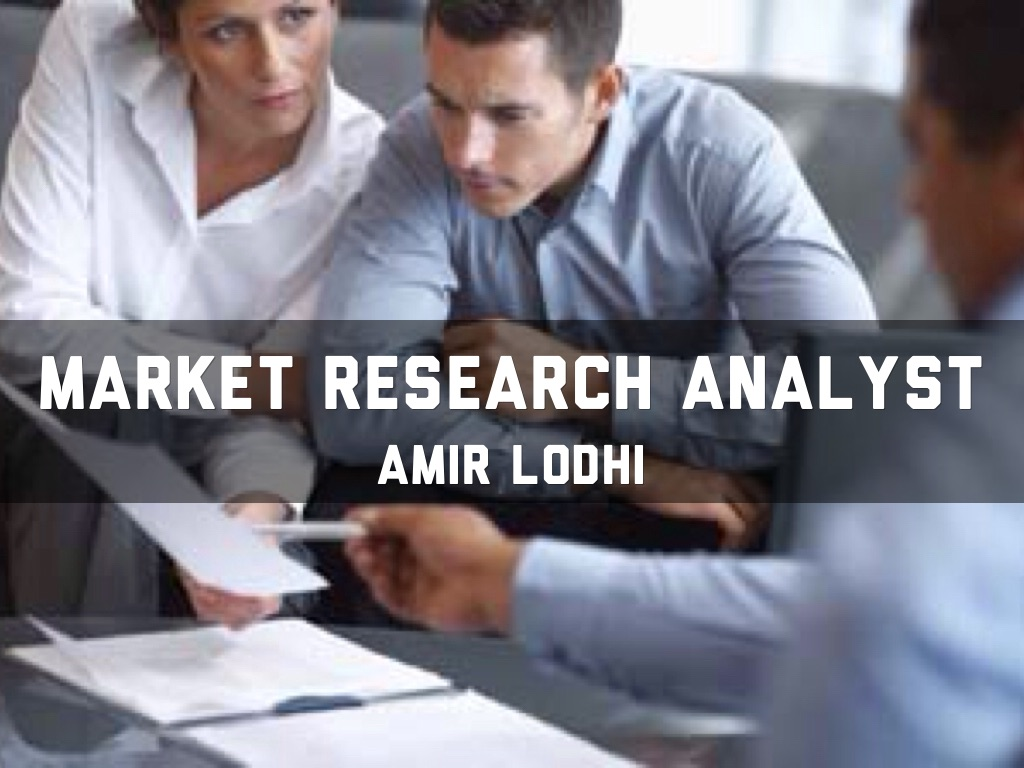 Marketing Research Analyst