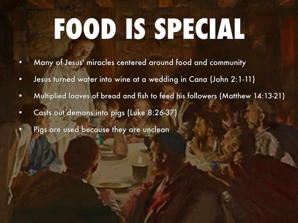 Did Jesus Eat Unclean Food