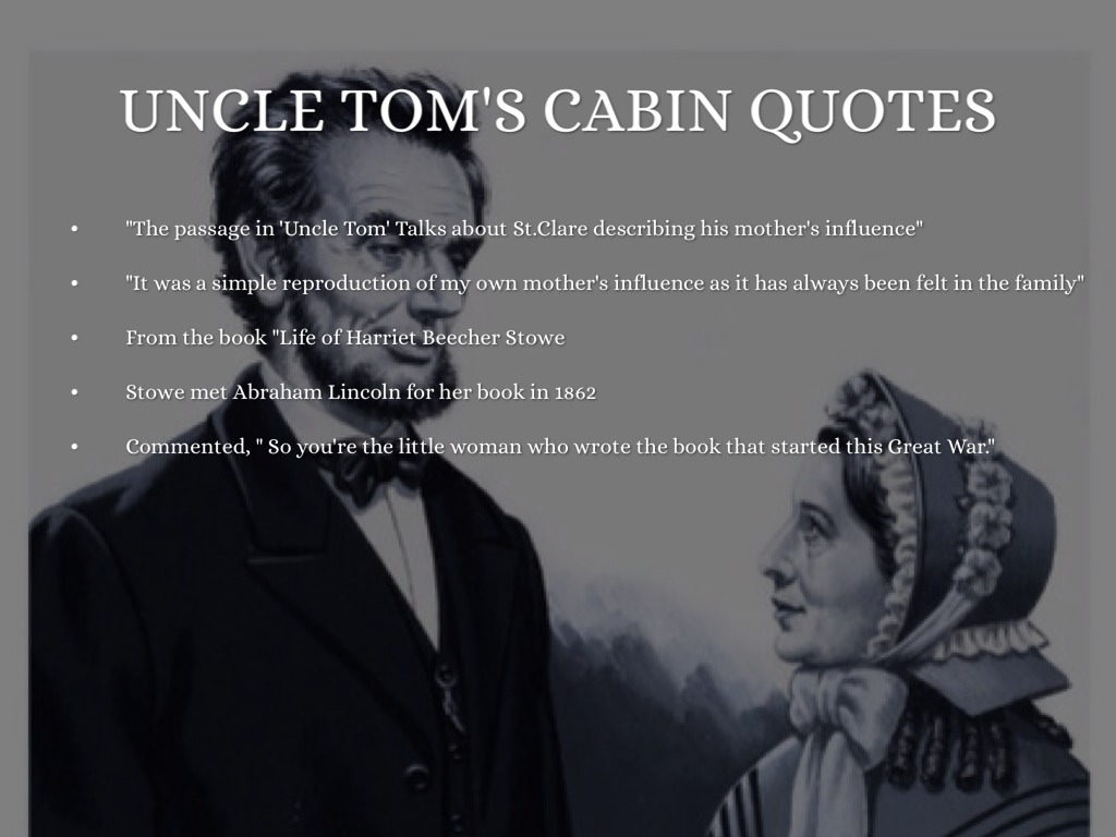 short essay of uncle toms cabin Free uncle toms cabin papers, essays, and research papers.
