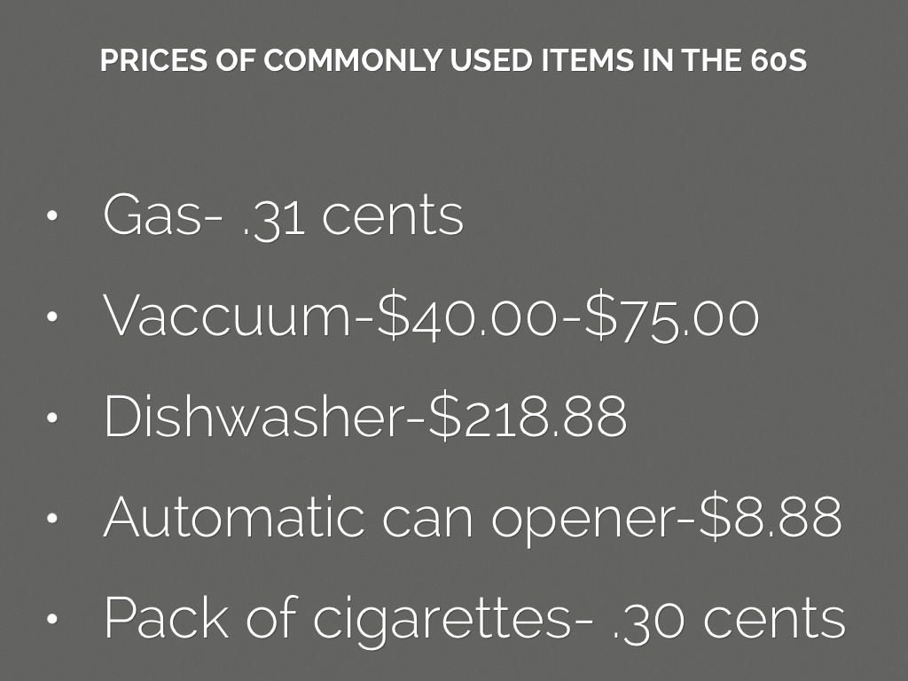 1960s webquest by julie naegele - New uses common items ...