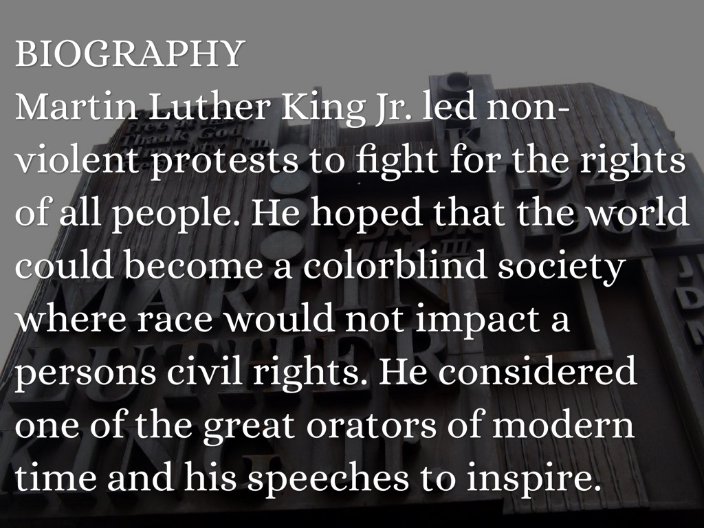 martin luther king jr  by jnam
